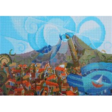 Diamond Dotz Mount Vesuvius - Needleart World