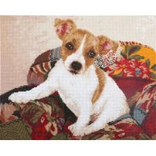 Diamond Dotz Patchwork Pup - Needleart World