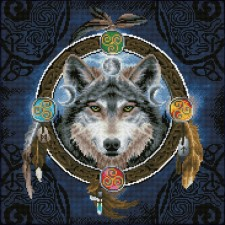Diamond Dotz Celtic Wolf Guide - Needleart World