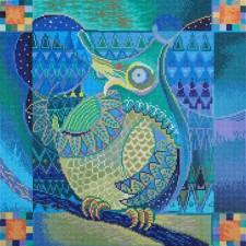 Diamond Dotz Indian Owl - Needleart World