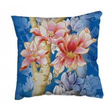 Diamond Dotz Magnolias on blue 1