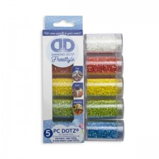 Diamond Dotz Dotz in Cylinders 5x 12 g - AB - Needleart World
