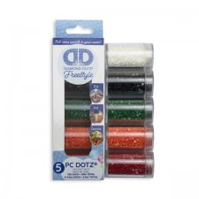 Diamond Dotz Dotz in Cylinders 5x 12 g - Holiday - Needleart World