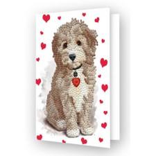 Diamond Dotz Greeting Card Lovely Boy - Needleart World