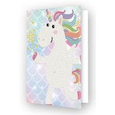 Diamond Dotz Greeting Card Unicorn Wish - Needleart World