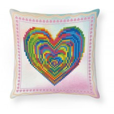 Diamond Dotz Love Rest Mini Pillow
