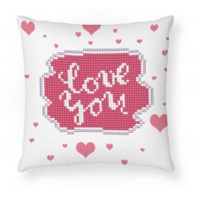 Diamond Dotz Love You Mini Pillow