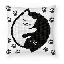 Diamond Dotz Kitty Glow Mini Pillow