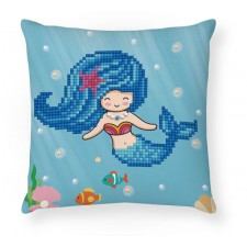 Diamond Dotz Pearl Swimmer Mini Pillow
