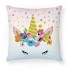 Diamond Dotz Flower Crown Mini Pillow