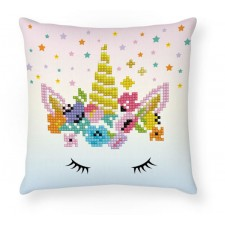 Diamond Dotz Flower Crown Mini Pillow