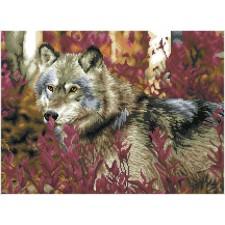 Diamond Dotz Autumn Wolf - Needleart World