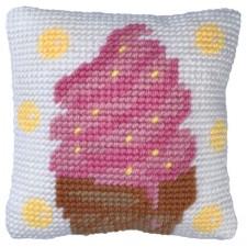 Cushion cross stitch kit Icecream Dream - Needleart World
