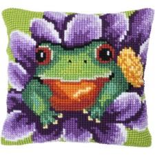 Cushion cross stitch kit Bloomer - Needleart World