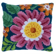 Cushion cross stitch kit Summer Day - Needleart World