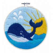 Longstitch kit Whale Song - Needleart World