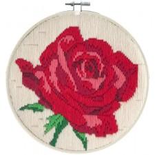 Longstitch kit Rose Rouge - Needleart World