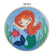 Longstitch kit Mermaid Song - Needleart World