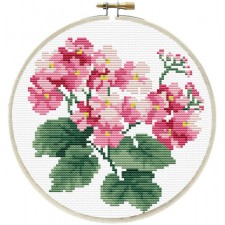 Pre-printed cross stitch kit Primavera - Needleart World