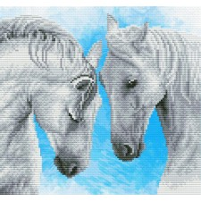 Pre-printed cross stitch kit Horse prayer - Needleart World
