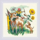 Cross stitch kit Summer in the Country