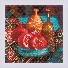 Cross stitch kit Pomegranates - RIOLIS