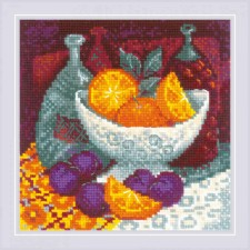 Cross stitch kit Oranges