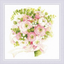 Cross stitch kit Wedding Bouquet - RIOLIS