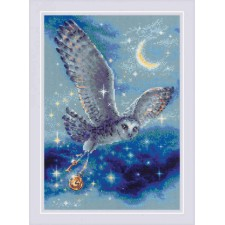 Cross stitch kit Magic Owl - RIOLIS