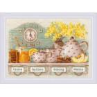 Cross stitch kit Tea Time