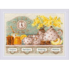 Cross stitch kit Tea Time - RIOLIS