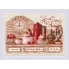 Cross stitch kit Coffee Time
