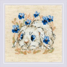 Cross stitch kit Little Bunny