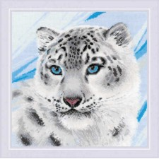 Cross stitch kit Snow Leopard - RIOLIS