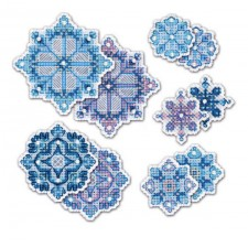 Cross stitch kit Snowflakes Decorations - RIOLIS