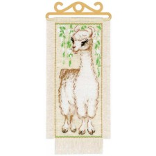 Cross stitch kit Alpaca  - RIOLIS