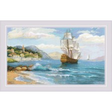 Cross stitch kit Distant Shores - RIOLIS