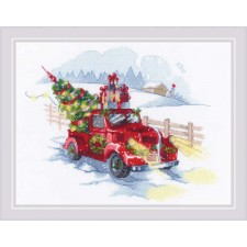 Cross stitch kit To the Holidays  - RIOLIS