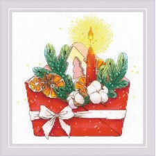 Cross stitch kit New Year's Letter - RIOLIS