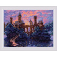Cross stitch kit Mysterious Castle - RIOLIS