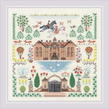 Cross stitch kit My House - RIOLIS