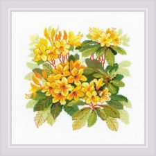 Cross stitch kit Rhododendron - RIOLIS