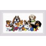 Cross stitch kit Dog Show - RIOLIS