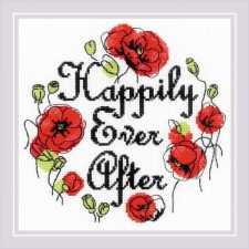 Cross stitch kit Happily Ever After - RIOLIS