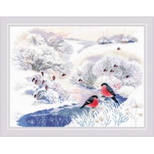 Cross stitch kit Winter River - RIOLIS