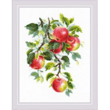 Cross stitch kit Juicy Apples - RIOLIS