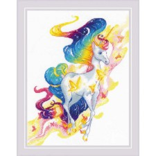Cross stitch kit Fairy Unicorn - RIOLIS