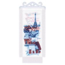 Cross stitch kit Paris Roofs - RIOLIS