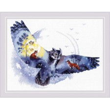 Cross stitch kit In The Night Forest  - RIOLIS