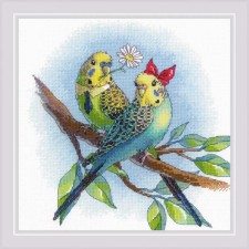 Cross stitch kit Love is in the Air - RIOLIS